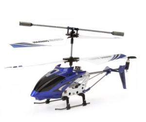 távirányítós helikopter kék